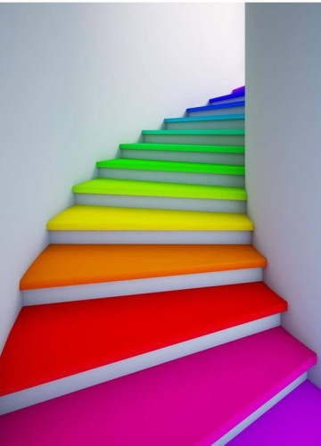13 ideas para decoración de escaleras